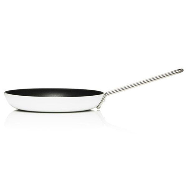 "Eva Trio 11"" (28 cm) White Line Frying Pan with Slip Let® - Vertigo Home"