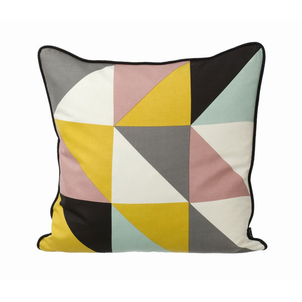 Remix Pillow - Yellow by Ferm Living - Vertigo Home