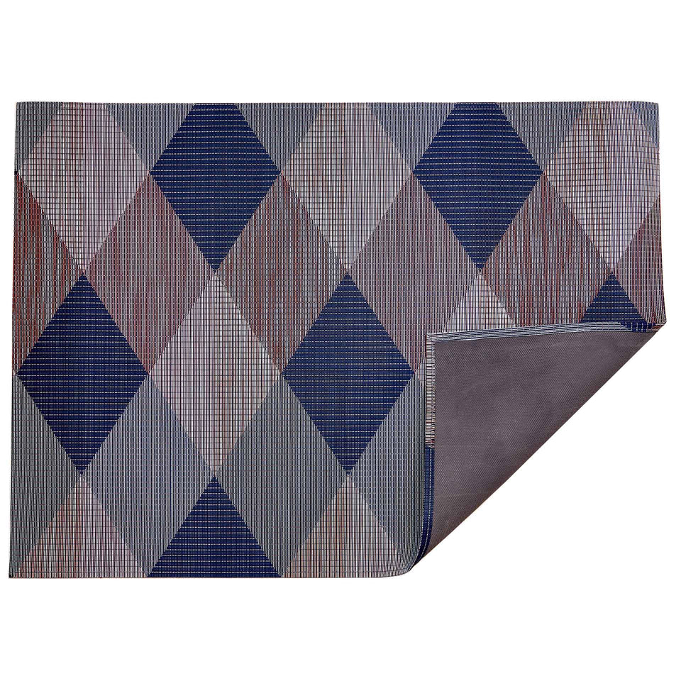 Twilight Signal Woven Floor Mat by Chilewich
