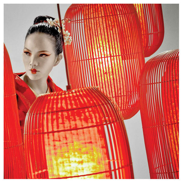 Geisha Lantern Large by Christy Manguerra for Hive at www.vertigohome.us