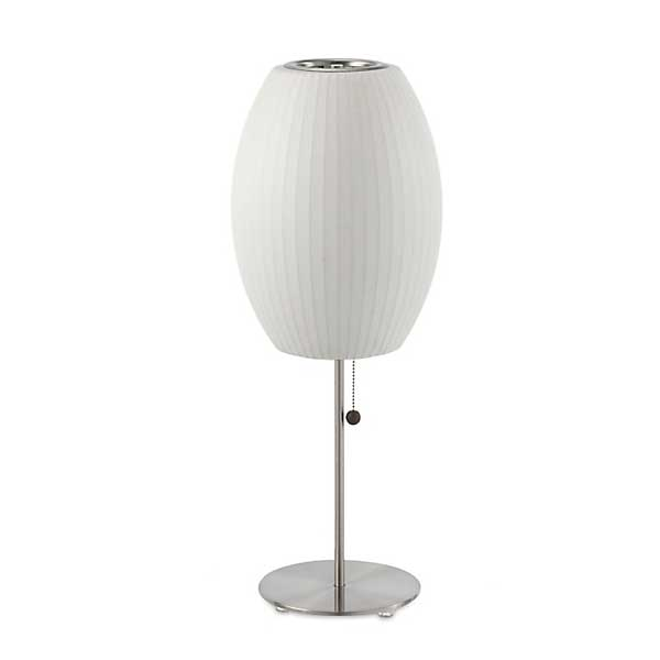 Cigar Lotus Table Bubble Lamp - George Nelson - Herman Miller