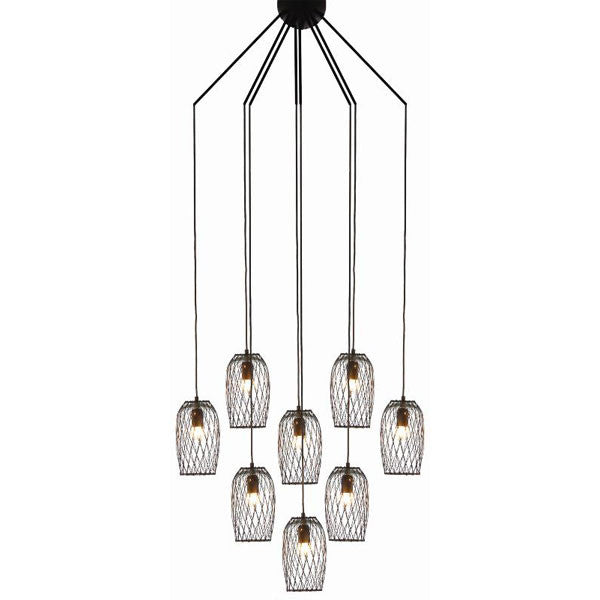 Constellation 8 Chandelier by Kenneth Cobonpue for Hive - Vertigo Home