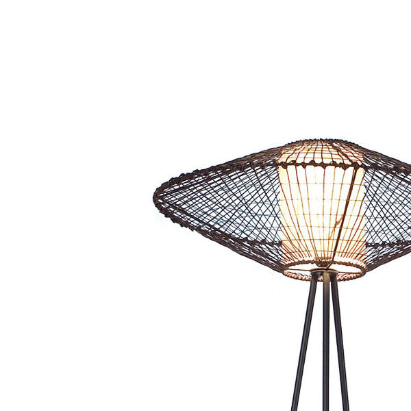 Kai Tripod Lamp Medium Indoor by Kenneth Cobonpue for Hive - Vertigo Home