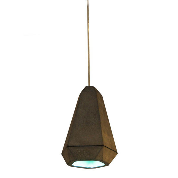Portland Pendant Aqua by James Bartlett for Innermost - Vertigo Home