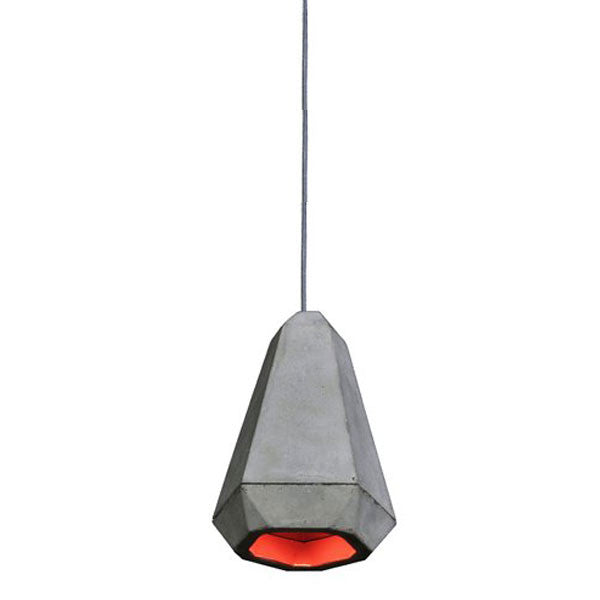 Portland Pendant Red by James Bartlett for Innermost - Vertigo Home