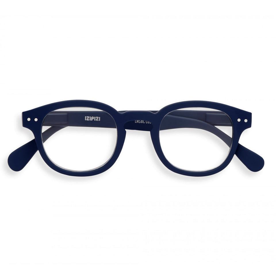 Navy Blue #C Reading Glasses by Izipizi