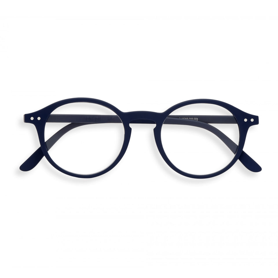 Navy Blue #D Reading Glasses by Izipizi