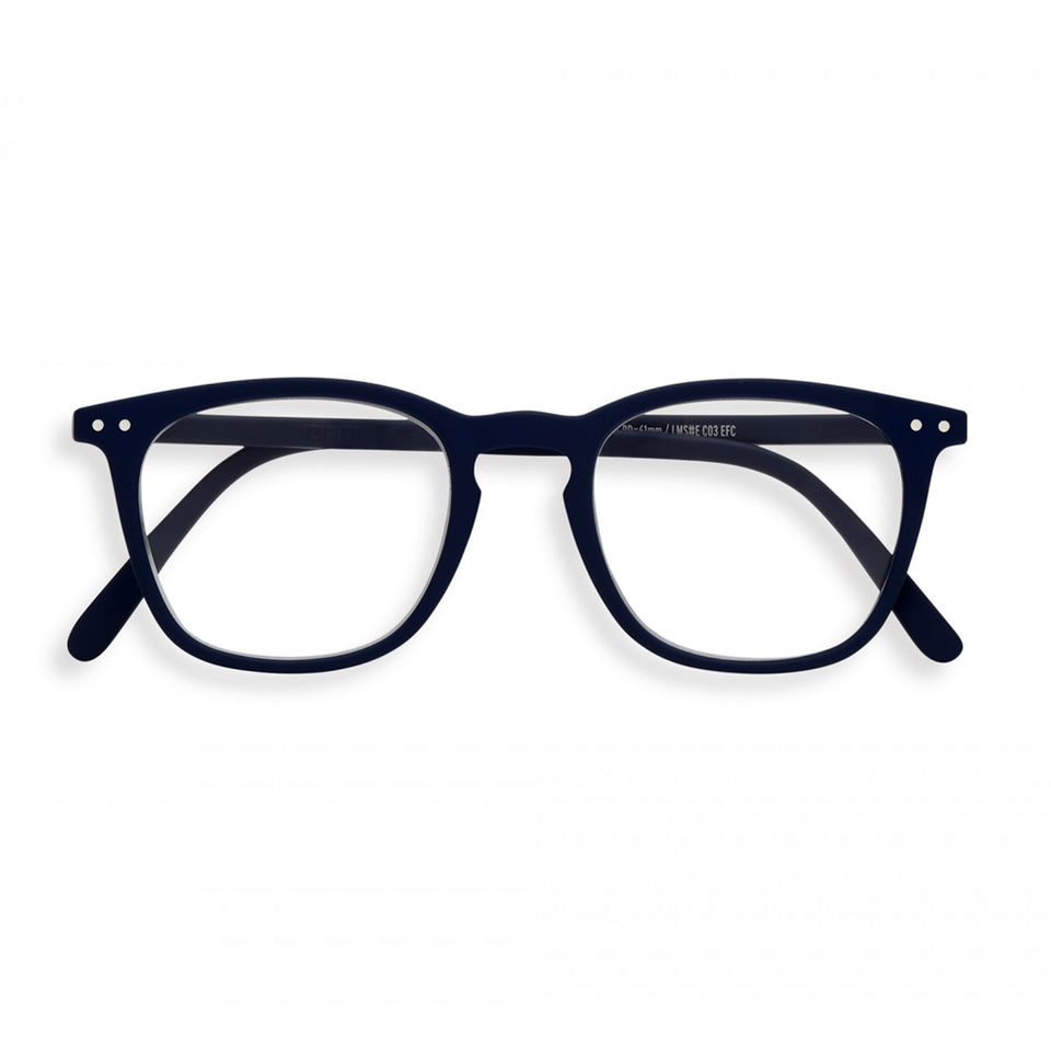 Navy Blue #E Reading Glasses by Izipizi