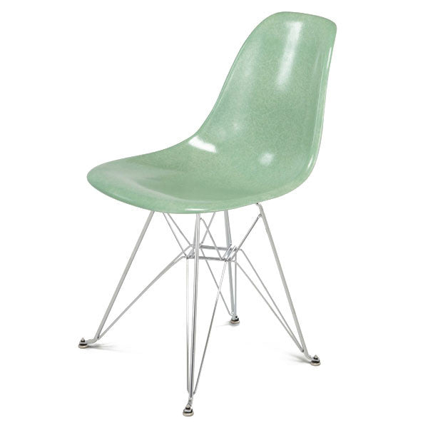 Side Shell Eiffel Chair w/ Chrome Base by Modernica