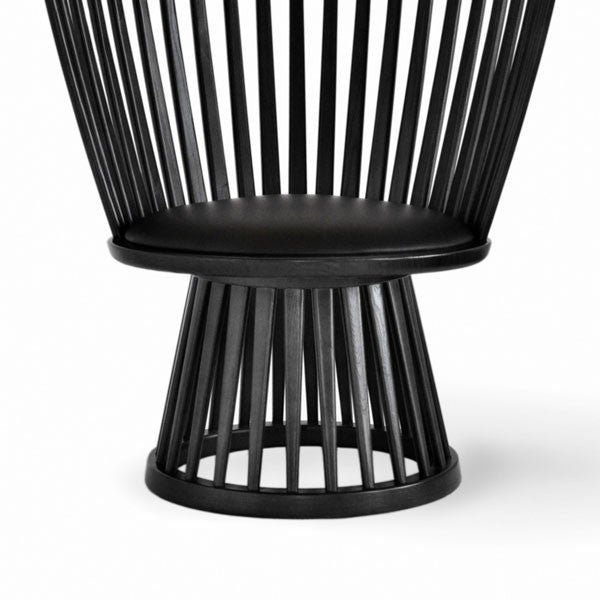 Fan Chair - Black by Tom Dixon - Vertigo Home