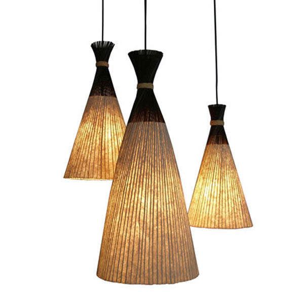 Luau Hanging Lamp Medium by Kenneth Cobonpue for Hive - Vertigo Home
