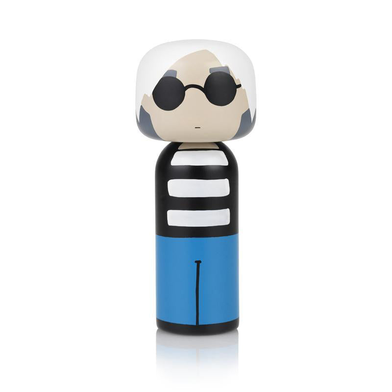 Andy Wooden Kokeshi Doll by Sketch.inc for lucie kaas