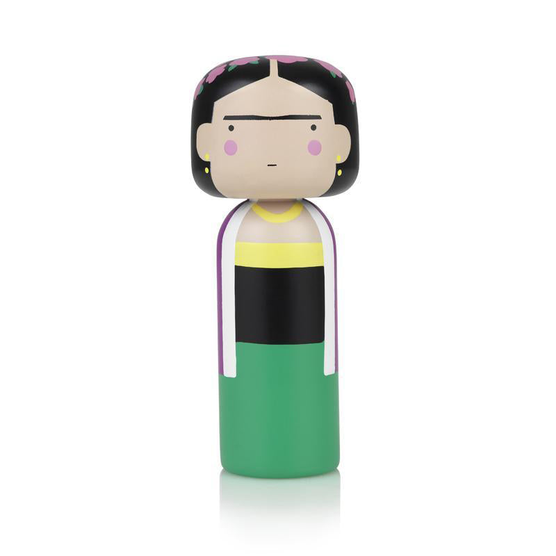 Frida Wooden Kokeshi Doll by Sketch.inc for lucie kaas