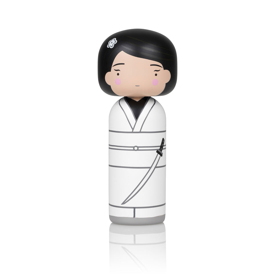 Kill Bill - O-Ren Ishii Wooden Kokeshi Doll by Sketch.inc for lucie kaas