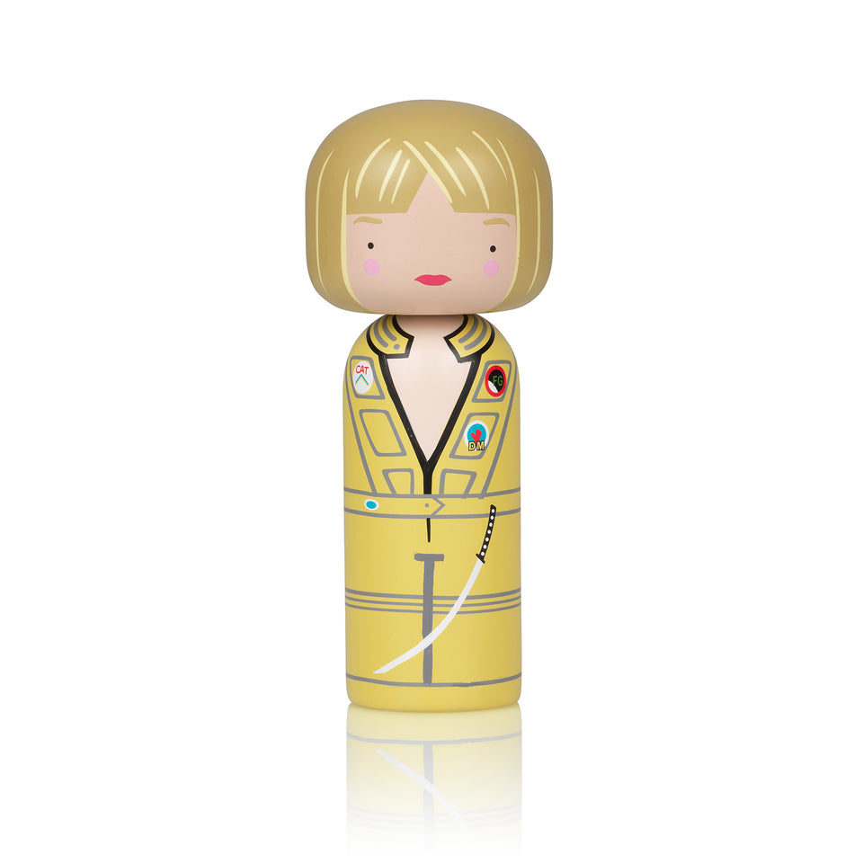 Kill Bill - The Bride Wooden Kokeshi Doll by Sketch.inc for lucie kaas
