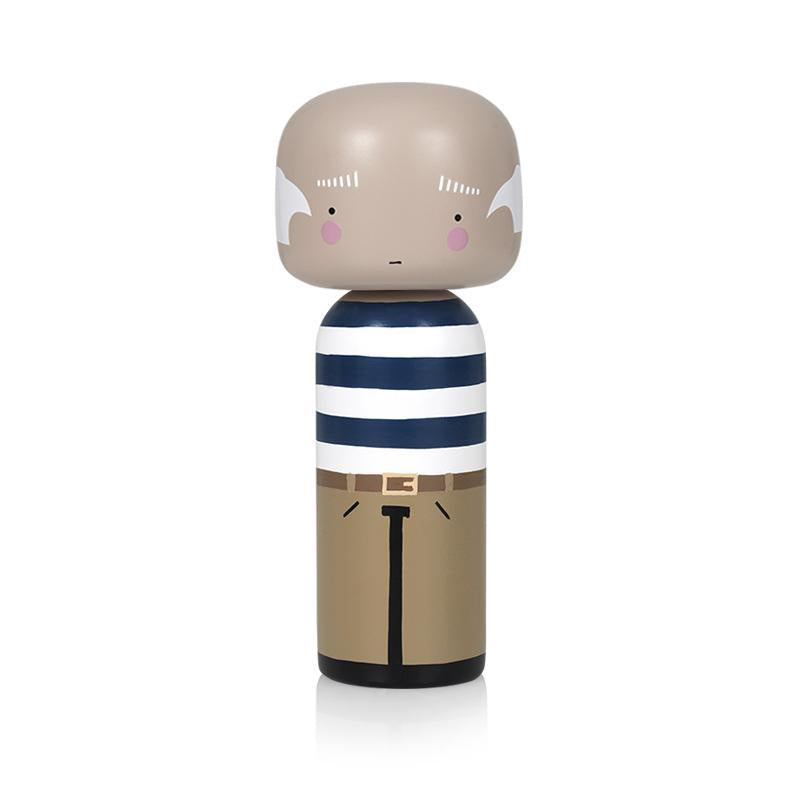 Pablo Wooden Kokeshi Doll by Sketch.inc for lucie kaas