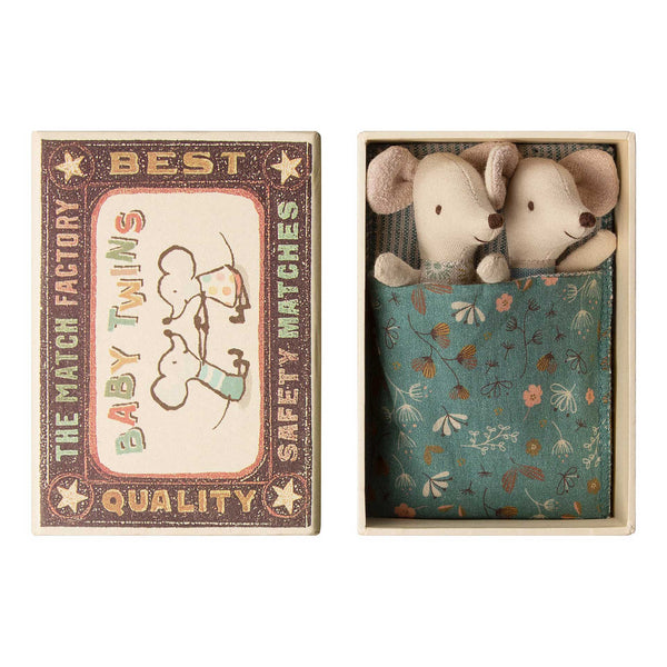 Baby Twins Mice in Box by Maileg