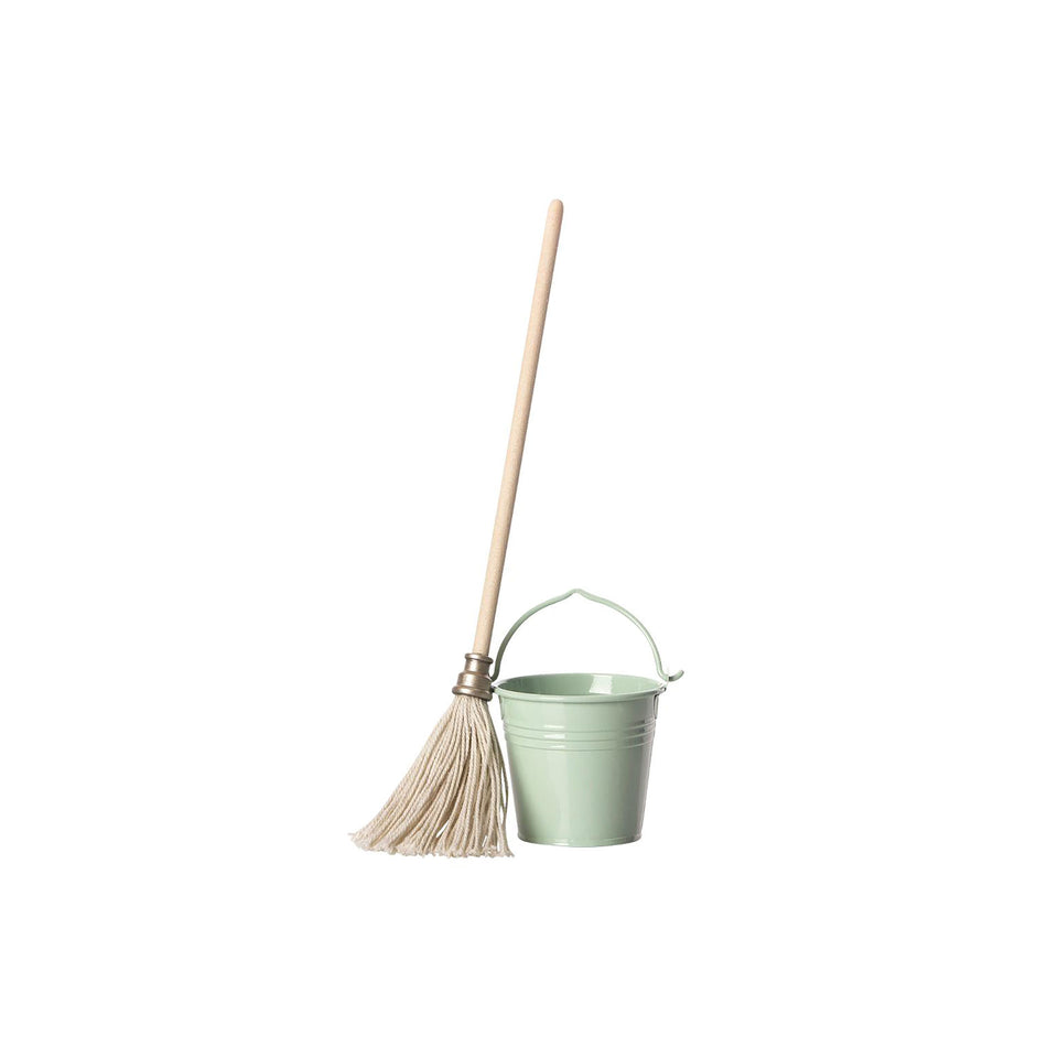 Bucket & Mop by Maileg