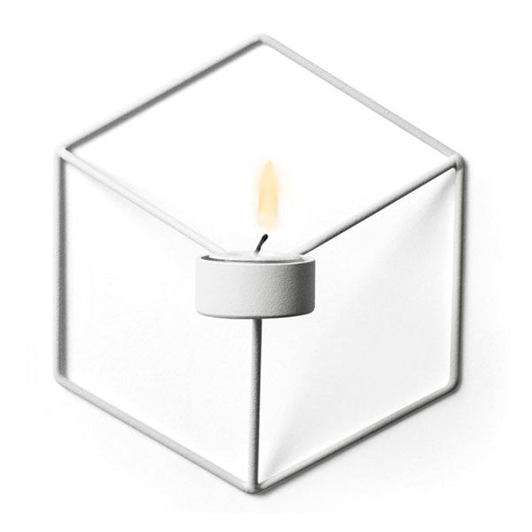 POV Wall Candleholder in White by Note and Menu A/S