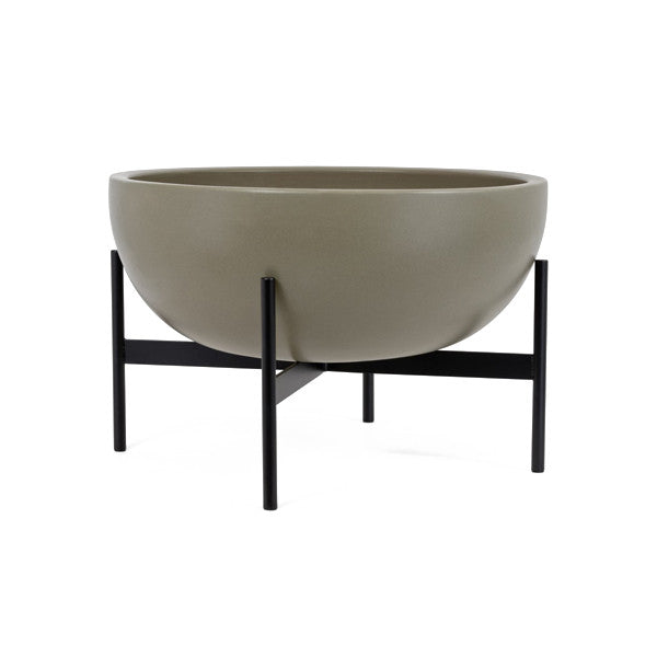 Case Study Large Bowl w/ Metal Stand