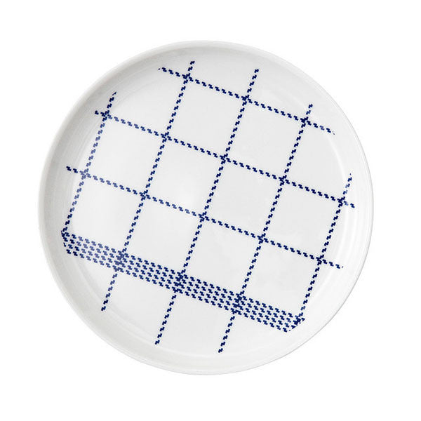 Normann Copenhagen Mormor Blue Plate Small by Gry Fager - Vertigo Home