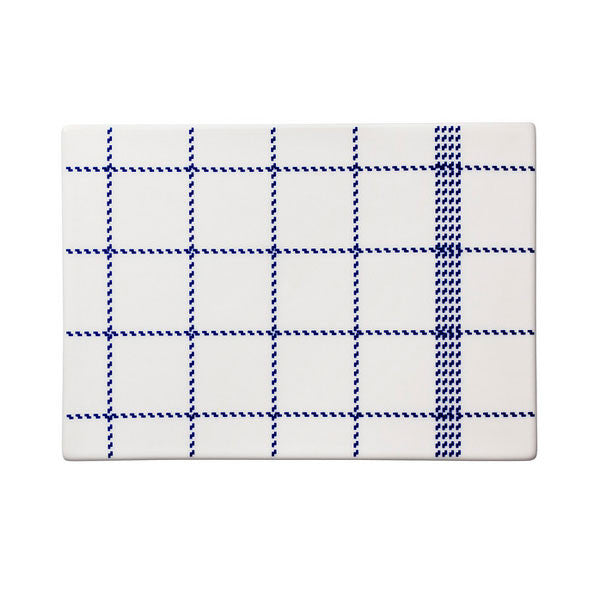 Normann Copenhagen Mormor Blue Buttering Board Small by Gry Fager