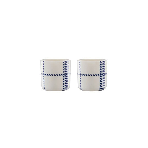 Normann Copenhagen Mormor Blue Egg Cups by Gry Fager - Vertigo Home