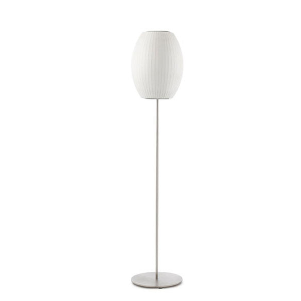 Cigar Lotus Floor Bubble Lamp - George Nelson - Modernica at www.vertigohome.us