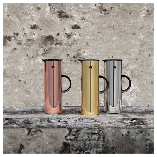 Chrome EM77 Thermo Vacuum Jug by Stelton - Vertigo Home