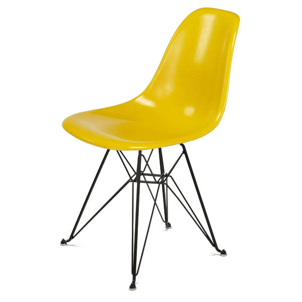 Side Shell Eiffel Chair w/ Black Base by Modernica - Vertigo Home