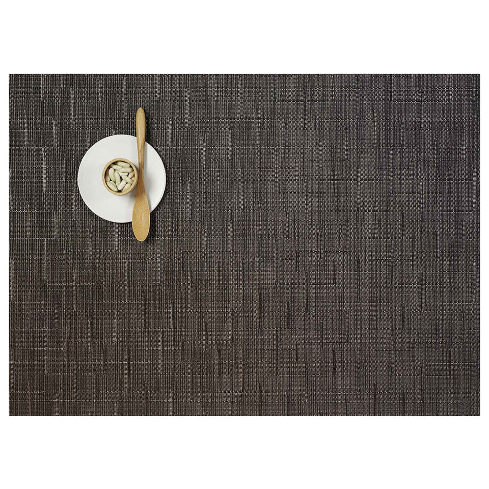 Chocolate Bamboo Placemats & Runner by Chilewich
