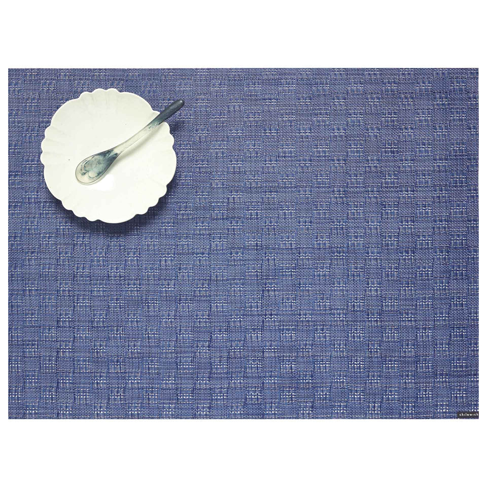 Blue Jean Bay Weave Placemat by Chilewich