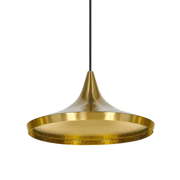 Beat Light - Wide - Brass by Tom Dixon - Vertigo Home