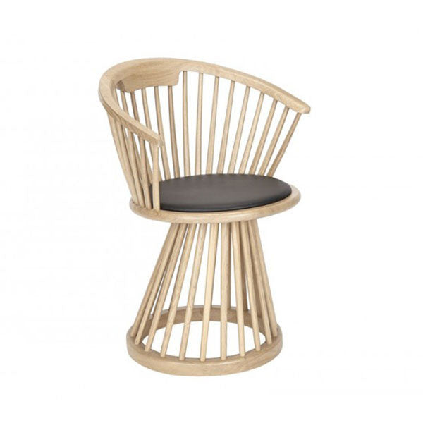 Fan Dining Chair - Natural Oak by Tom Dixon at www.vertigohome.us