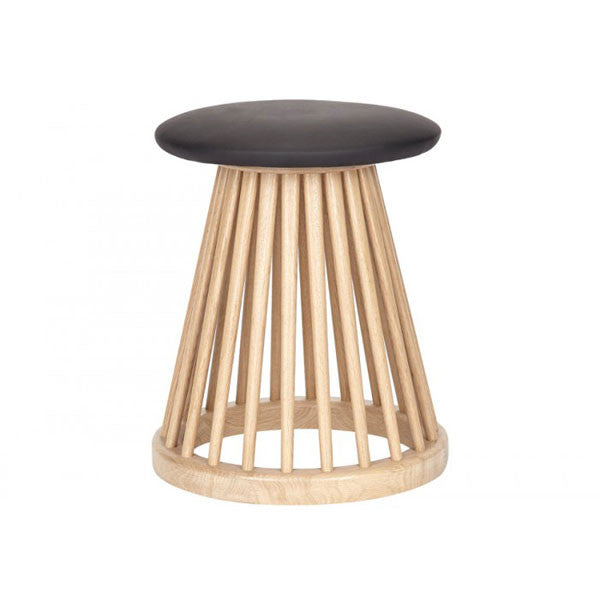 Fan Stool - Natural Oak by Tom Dixon at www.vertigohome.us