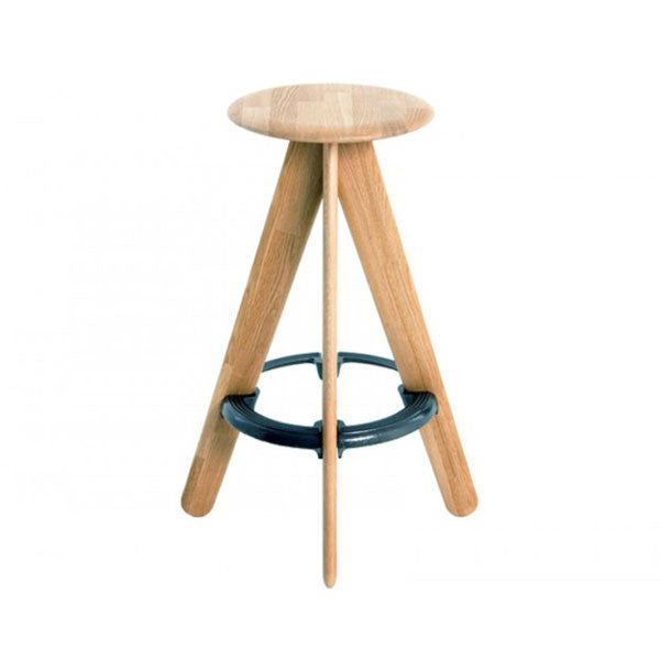 Slab Bar Stool in Natural by Tom Dixon at www.vertigohome.us