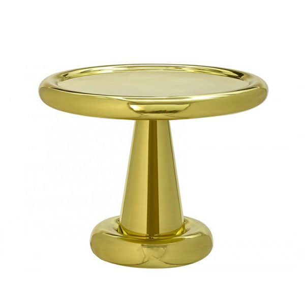 Spun Table Short - Brass - by Tom Dixon at www.vertigohome.us