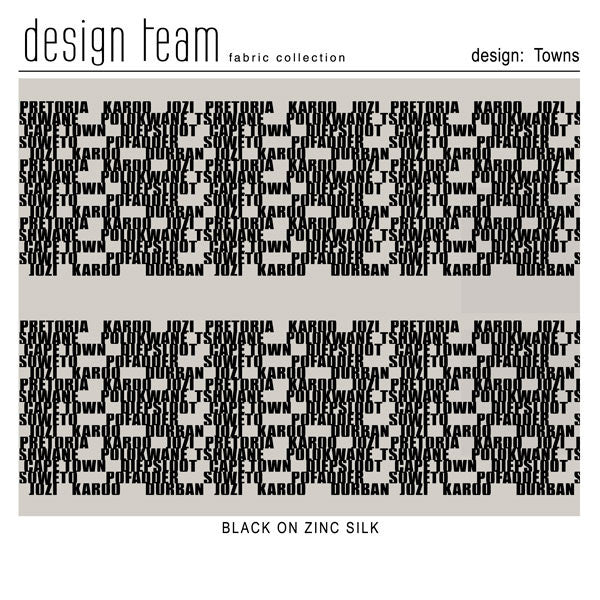 Towns - Design Team Fabric