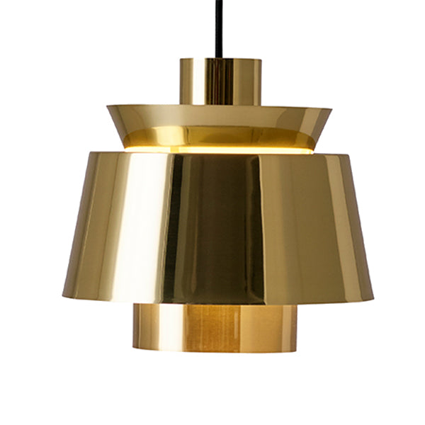 JU1 Utzon Tivoli Pendant Polished Brass by Jørn Utzon from AndTradition