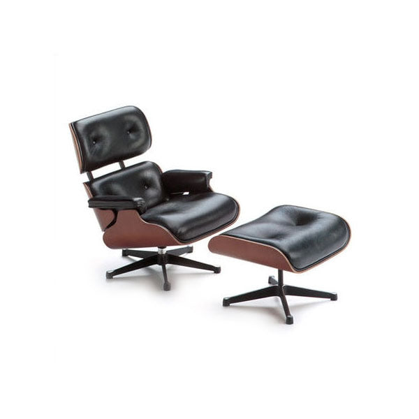 Vitra Miniature Eames Lounge Chair + Ottoman - Vertigo Home