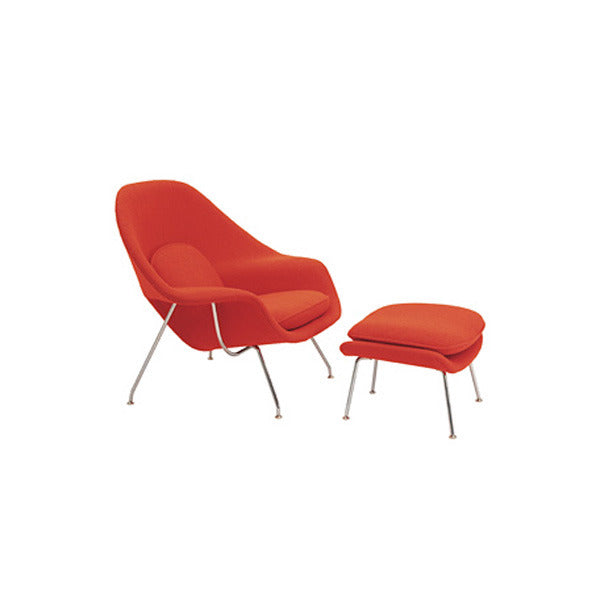 Vitra Miniature Saarinen Womb Chair + Ottoman - Vertigo Home