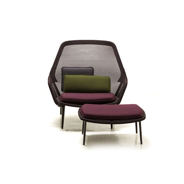 Slow Chair + Ottoman by Ronan and Erwan Bouroullec for Vitra