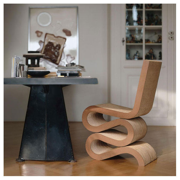 Vitra Wiggle Side Chair by Frank Gehry - Vertigo Home