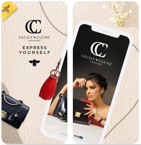 Cecily Clune jumps 'Out of the Box' with its very own AR  (augmented reality) app - the first for luxury handbags.