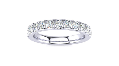 5/8 CT Micropave Venus Ring  .66 CT TDW