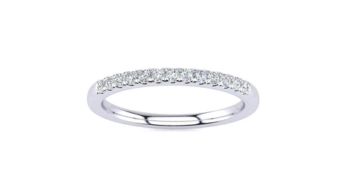.15 CT Micropave Venus Ring  .15 CT TDW