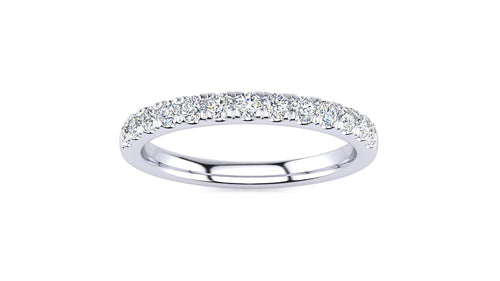 1/3 CT Micropave Venus Ring  .33 CT TDW