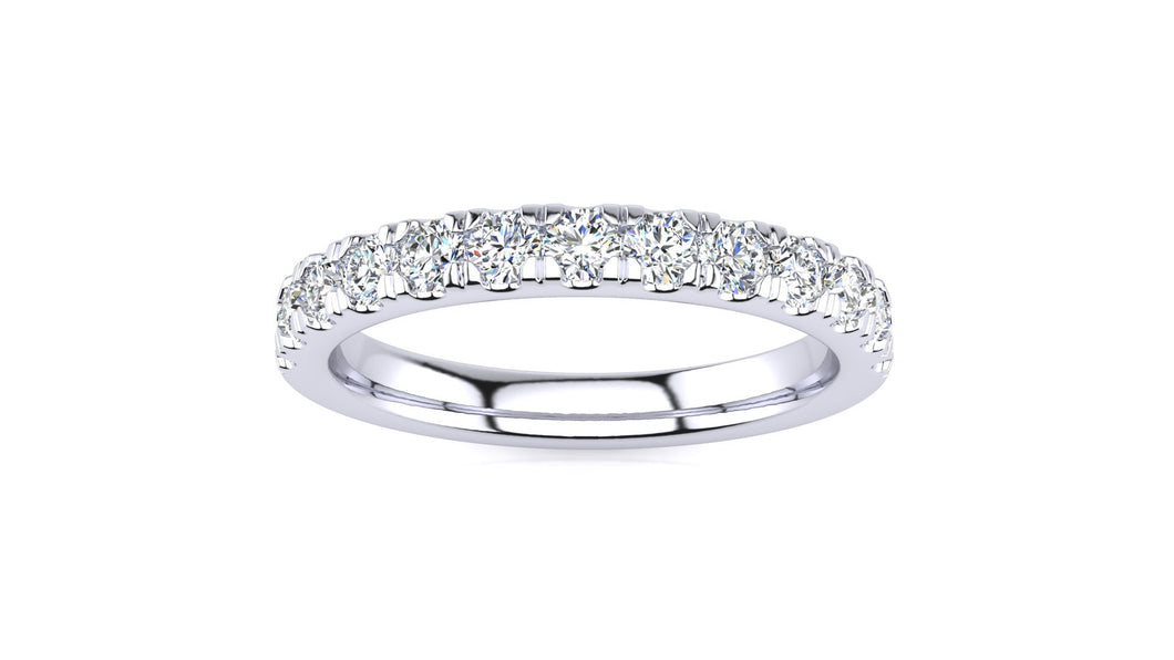 1/2 CT Micropave Venus Ring  .52 CT TDW