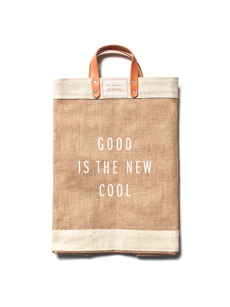 Good is the New Cool x Apolis Market Tote Bag
