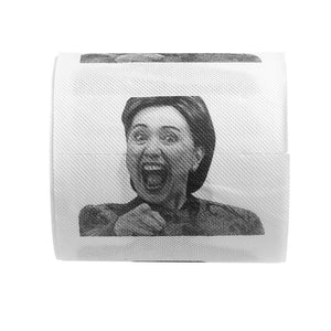 Funny Toilet Paper Hillary Clinton